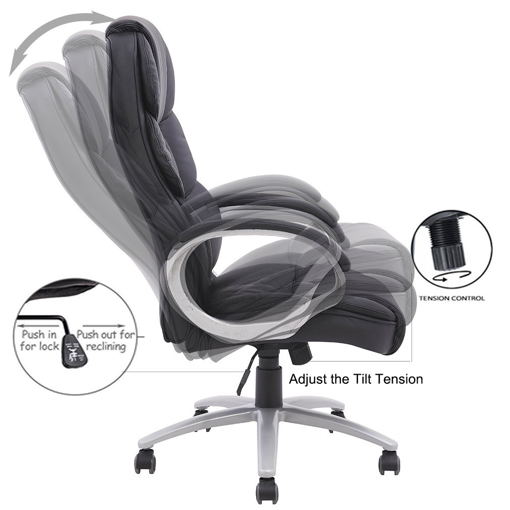 BestOffice Ergonomic High Back Executive Office Chair